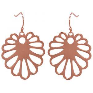 Aloe Flower Earrings - Rose Gold