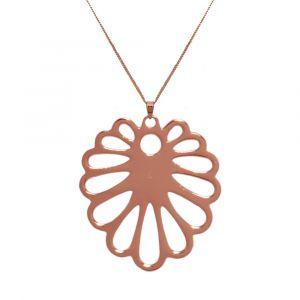 Aloe Flower Necklace - Rose Gold