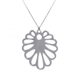 Aloe Flower Necklace - Sterling Silver