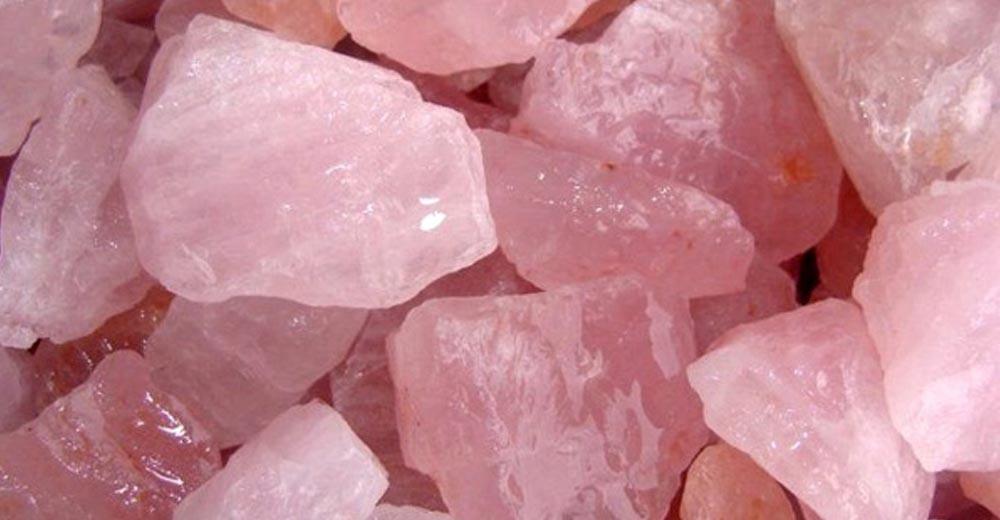 Rose Quartz - The Healing Stone.