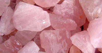 Rose Quartz - The Healing Stone.